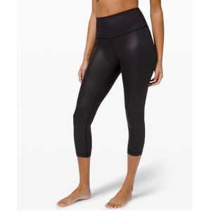 Lululemon Special Edition Wunder Under HR Crop